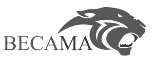 Becama logo with text